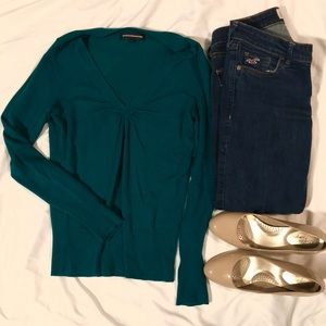 Teal Express Sweater